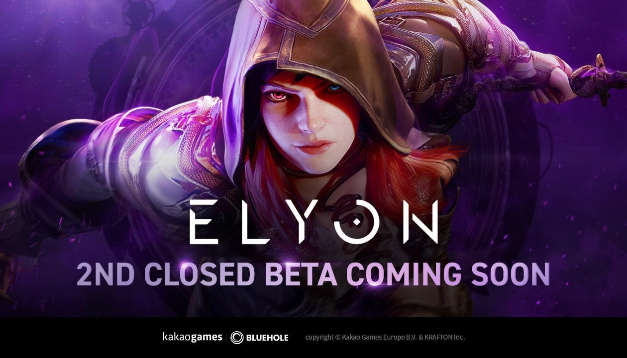Korean MMORPG Elyon's Second Closed Beta Registration Starts July 26th Ahead of Fall Release